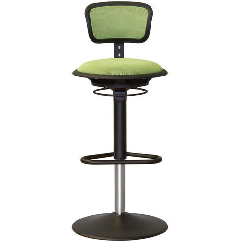 Our Jax Mesh Stool with Adjustable Backrest and Round Seat - Green is on sale now.