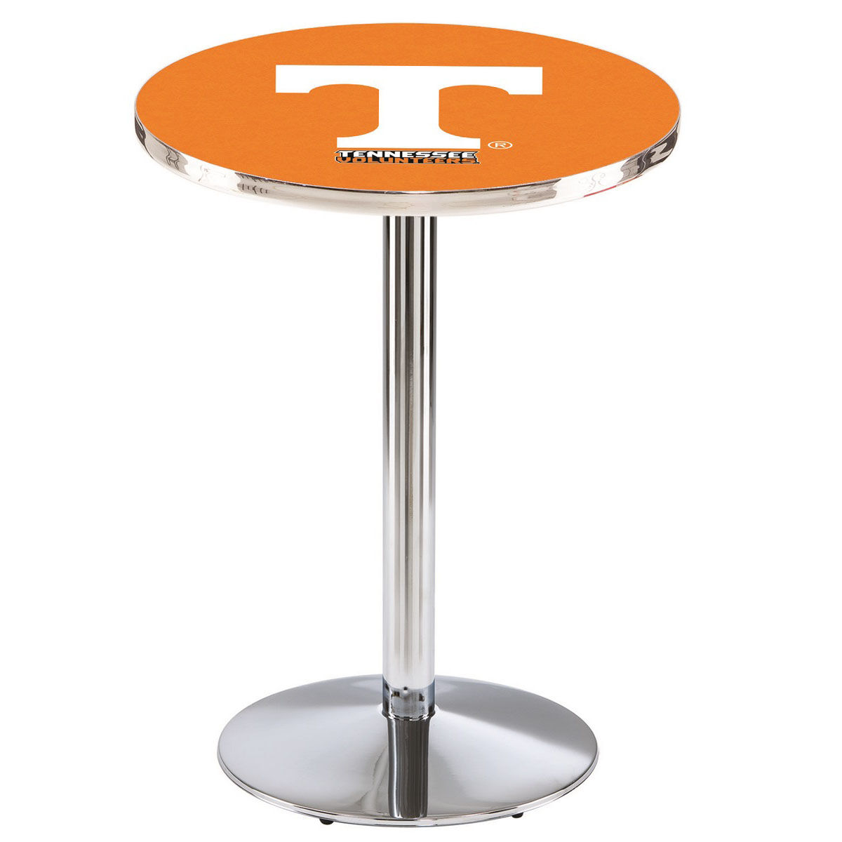 University Of Tennessee 36 H Chrome Finish Counter Height