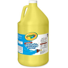 Crayola Washable Paint - 1 Gallon - Yellow