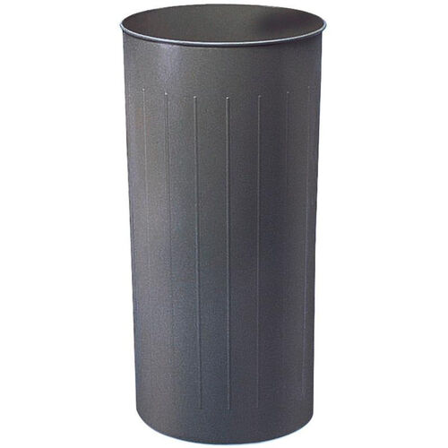 Our 80 Qt Puncture Resistant Steel Round Wastebaskets - Set of Three - Charcoal is on sale now.