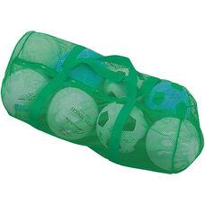 Mesh Duffel Bag in Green