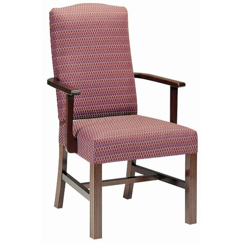 5038 Arm Chair w/ Upholstered Back & Webbed Seat - Grade 1