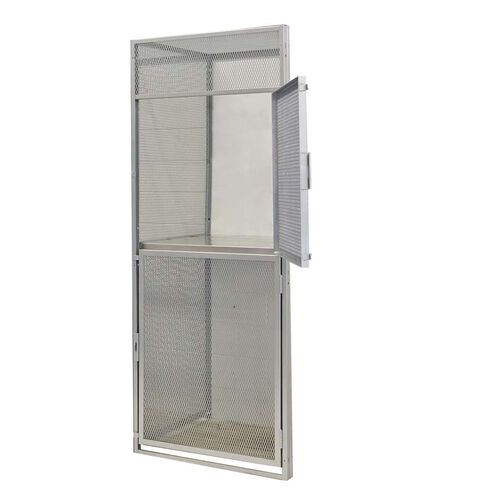 Our Heavy Duty Bulk Storage Double Tier Stock Adder Locker - Unassembled - 48