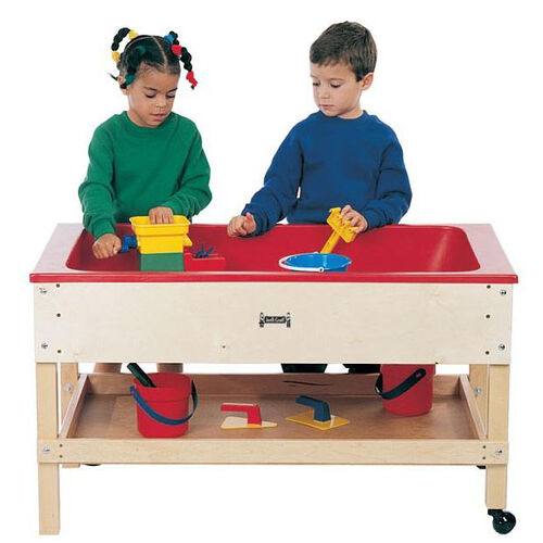 Our Sand-n-Water Table with Shelf is on sale now.