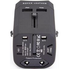 International Travel Adapter Plug - Black