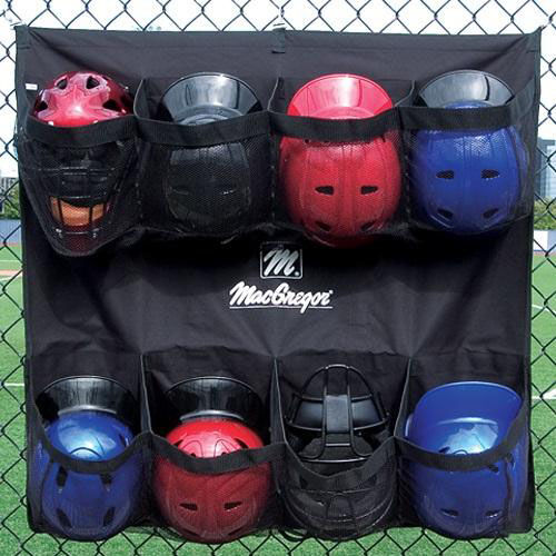 Our Polyester Hanging Helmet Caddy with 8 Mesh Pockets is on sale now.