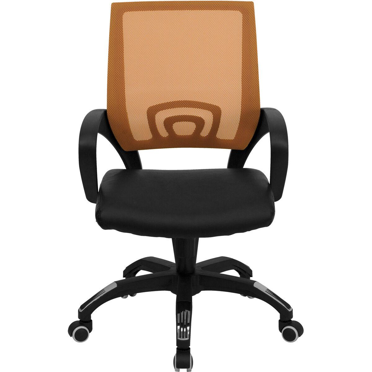orange mid back task chair cp b176a01 orange gg bizchair com