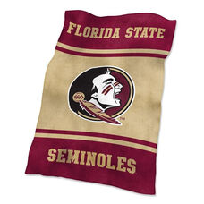 Florida State University Team Logo Ultra Soft Blanket