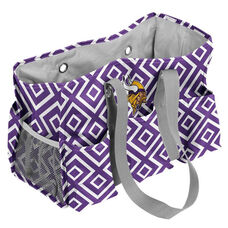 Minnesota Vikings Team Logo Double Diamond Junior Carry All Caddy