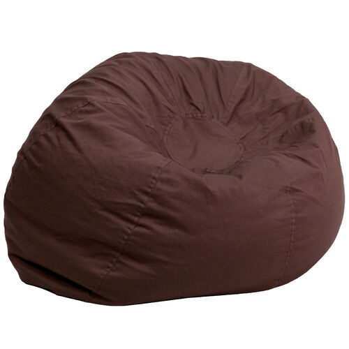 Our Oversized Solid Brown Bean Bag Chair for Kids and Adults is on sale now.