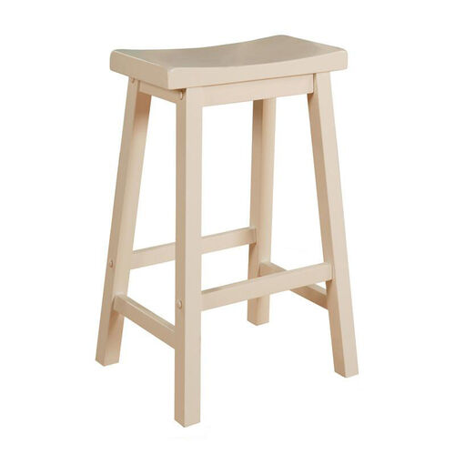 Our Saddle Barstool - White is on sale now.