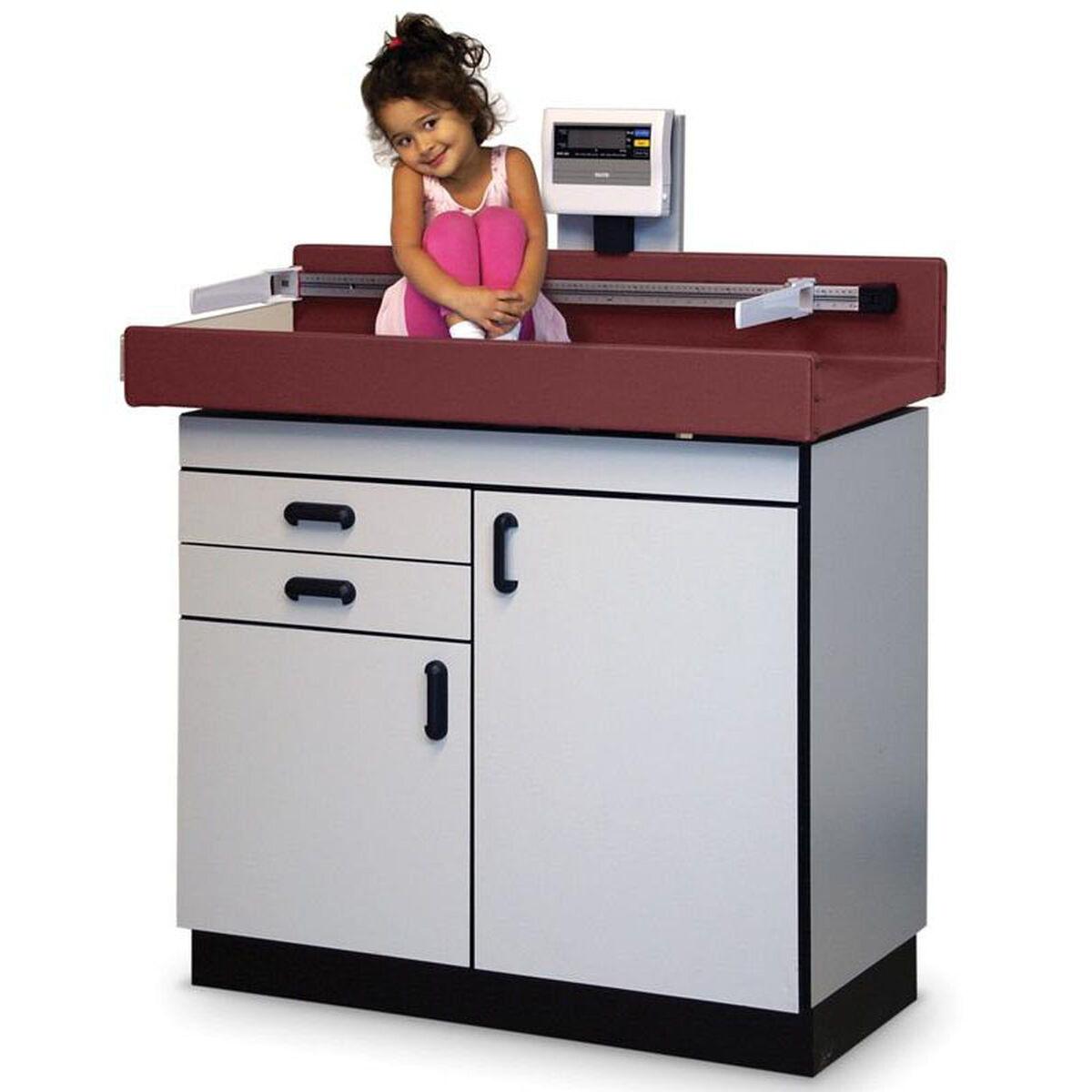 Pediatric Table With Scale Hau 4944 Bizchair Com