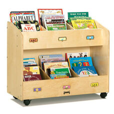 Mobile Section Book Organizers - 6 Section