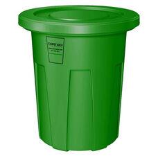 35 Gallon Cobra Food Grade/General Use Trash Can - Green