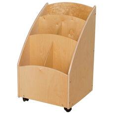 Contender Mobile Paper Bin Storage Unit - Unassembled - 20