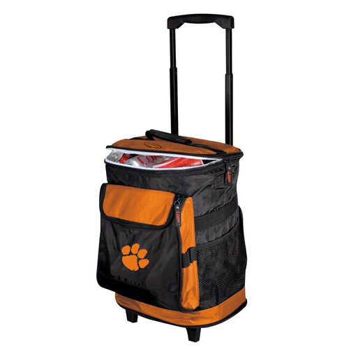 Our Clemson University Team Logo Rolling Cooler is on sale now.