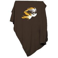 University of Missouri Team Logo Sweatshirt Blanket