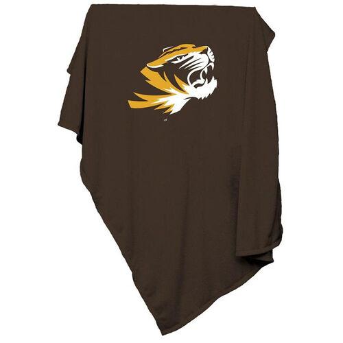 Our University of Missouri Team Logo Sweatshirt Blanket is on sale now.