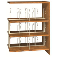 3-Shelf Double Sided Picture Book Bookcase Adder