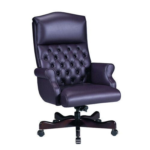 Our Renaissance Series Rolled Arm High Back Executive Swivel Chair with Tufts is on sale now.
