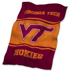 Virginia Tech Team Logo Ultra Soft Blanket