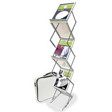 Deflecto Collapsible Literature Floor Stand