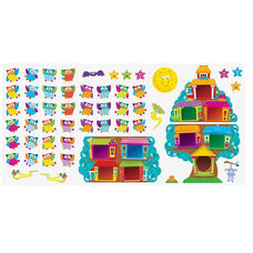 Trend Enterprises Owl-Stars Job Chart Bulletin Board Set