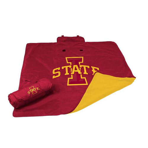 Our Iowa State University Team Logo All Weather Blanket is on sale now.