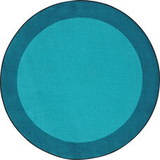 Kid Essentials All Around Nylon Rug with SoftFlex Backing - Teal - 91