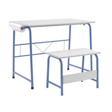 Studio Designs Project Center Set with Matching Bench - Blue