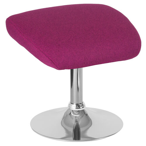 Our Egg Series Magenta Fabric Ottoman is on sale now.