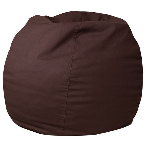 Our Small Solid Brown Bean Bag Chair for Kids and Teens is on sale now.