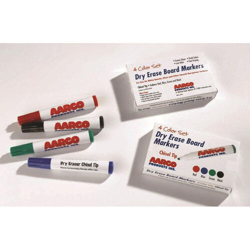 Our Dry Erase Reduced Odor Markers - Set of 4 is on sale now.