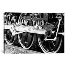 Antique Train by Unknown Artist Gallery Wrapped Canvas Artwork