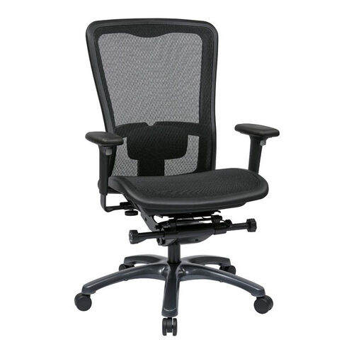 Our Pro-Line II ProGrid® Mesh High Back Office Chair with Adjustable Arms and Lumbar Support - Black is on sale now.