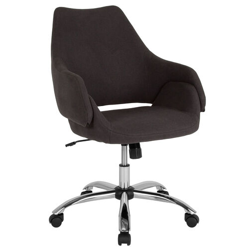 Our Madrid Home and Office Upholstered Mid-Back Office Chair with Wrap Style Arms is on sale now.