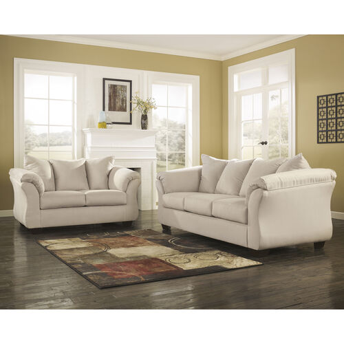 Signature Design by Ashley Darcy Living Room Set in Fabric