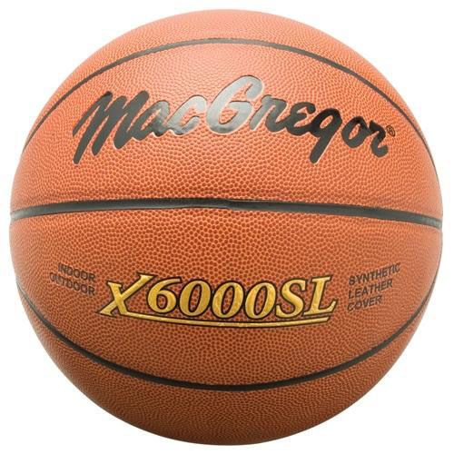 Our MacGregor® X6000SL Basketball is on sale now.