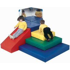 Multicolor Toddler Pyramid Climbing and Play Center - 69