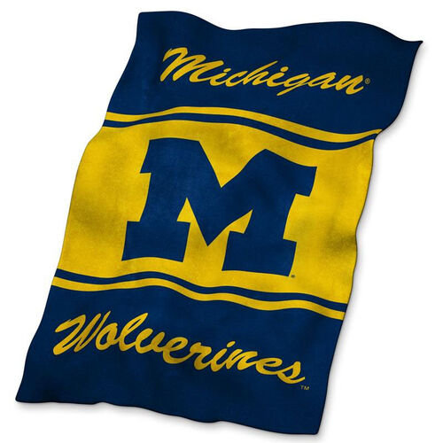 Our University of Michigan Team Logo Ultra Soft Blanket is on sale now.