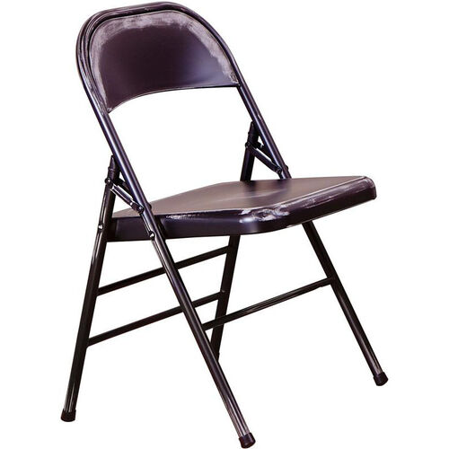 Our OSP Designs Bristow Distressed Steel Folding Chair - Set of 4 - Antique Black is on sale now.