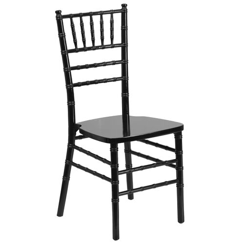 "Our HERCULES Series Black Wood Chiavari Chair with <span style=""color:#0000CD;"">Free </span> Cushion is on sale now."