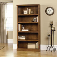 Select Collection 69.75''H Bookcase with Adjustable Shelves - Oiled Oak