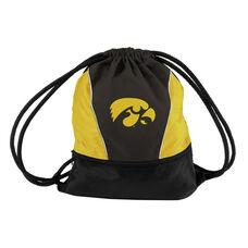 University of Iowa Team Logo Spring Drawstring Backsack