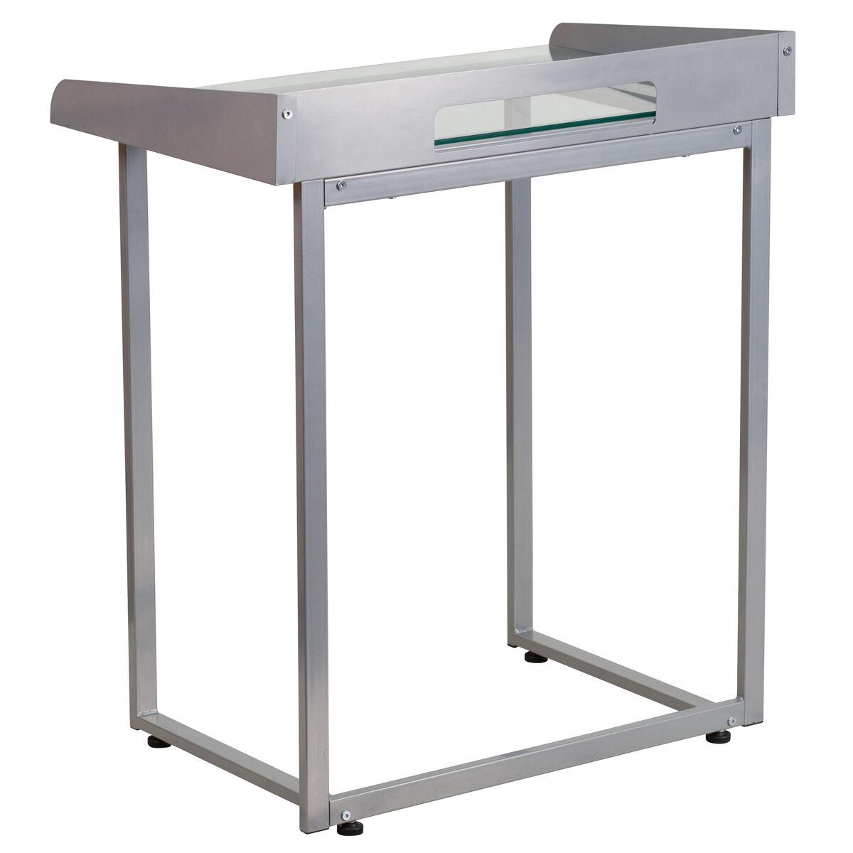 Glass Top Desk NAN-YLCD1234-GG | Bizchair.com
