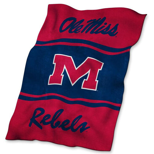 Our University of Mississippi Team Logo Ultra Soft Blanket is on sale now.