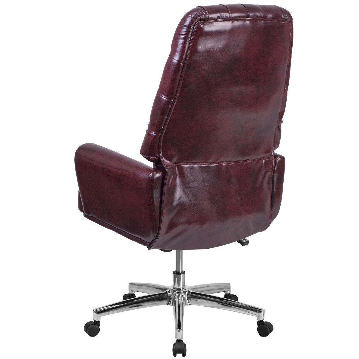 burgundy high back chair bt 444 by gg bizchair com