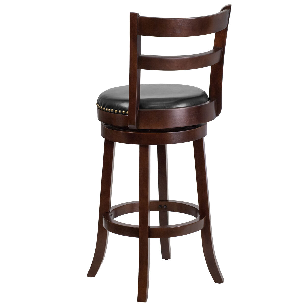 Flash Furniture 30 High Cappuccino Wood Barstool With