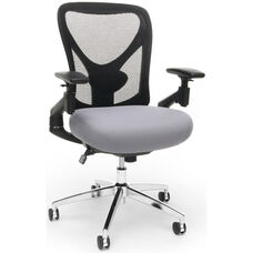 Stratus 24-Hour Big & Tall Mesh Chair - Gray