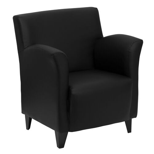 Our HERCULES Roman Series Black LeatherSoft Lounge Chair is on sale now.